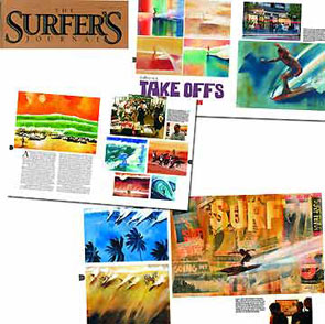 Surfer Art