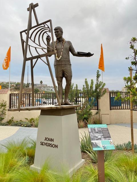 John Severson Statue