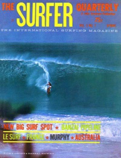 Surfer Pipeline Cover